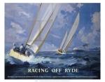 Racing off Ryde