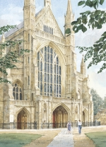 Winchester Cathedral - West Front