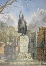 King Alfred Statue, Winchester, Hampshire