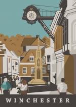 Winchester High Street & Buttercross