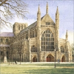 Winchester Cathedral greetings card