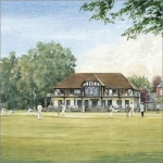 Cricket at Winchester College card