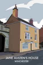 Winchester: Jane Austen's house, College Street