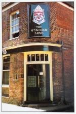 Wykeham Arms postcard